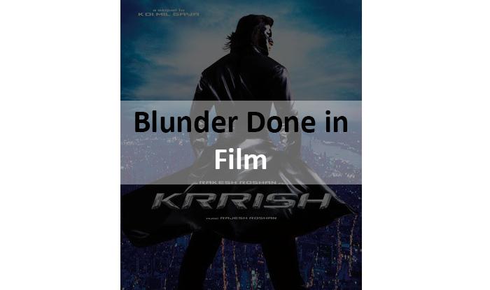 "Mistake in film ""Krissh"""