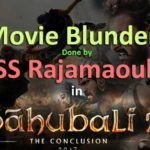 unnoticed mistakes in bahubali-2