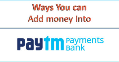 add money in paytm bank