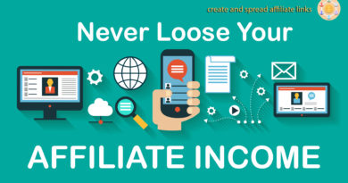 never loose affiliate income