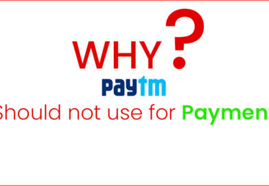 Reasons not to use PayTM for payments