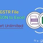 convert json to excel gst