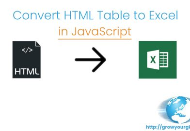 export to excel javascript