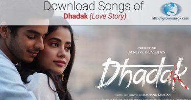 download dhadak songs