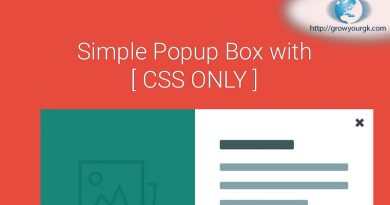 css only popup