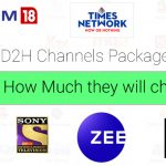 d2h channel pricing