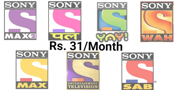sony channel pack price