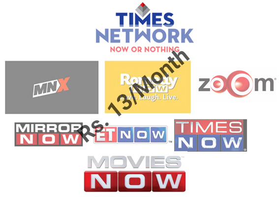 times network channel price