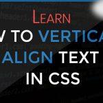 vertically center text