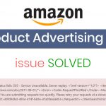 product advertising api error solved